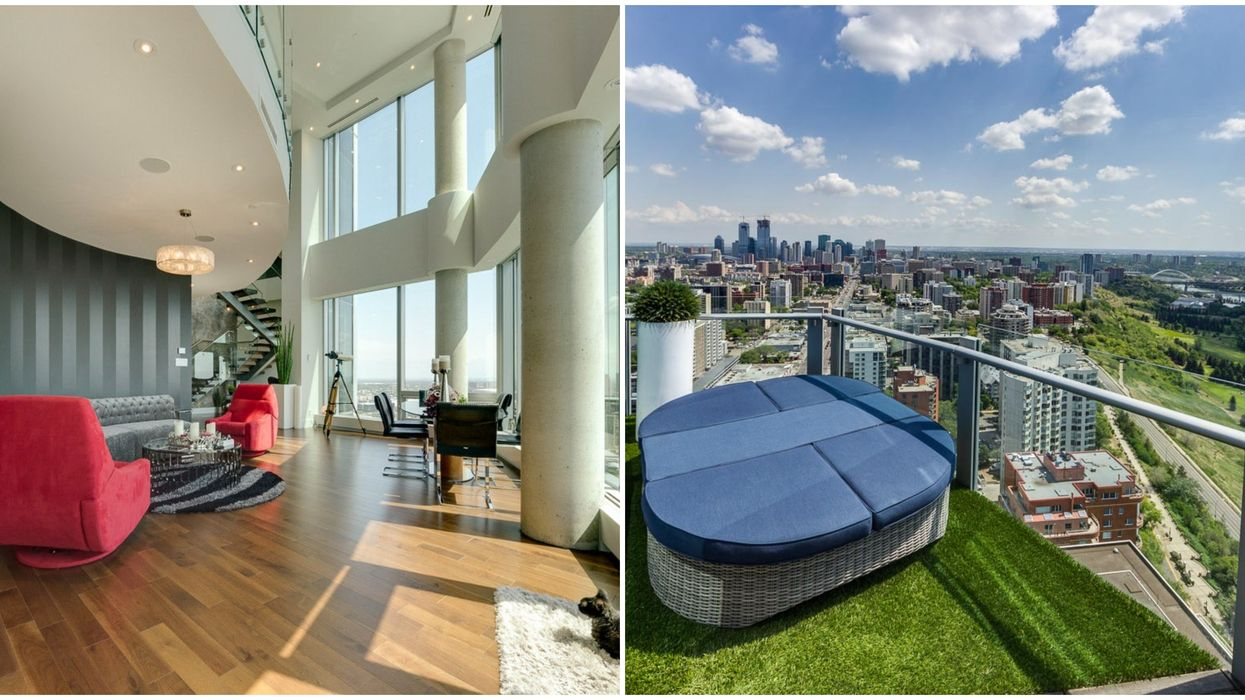 Edmonton's Most Expensive Condo Costs Over $2 Million & The Views Are Incredible (PHOTOS)