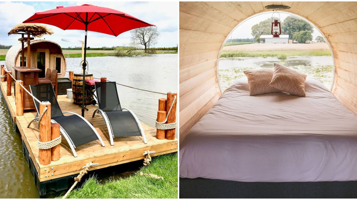 Floating Wine Barrel Airbnb Is The Ultimate Ontario Glamping Destination