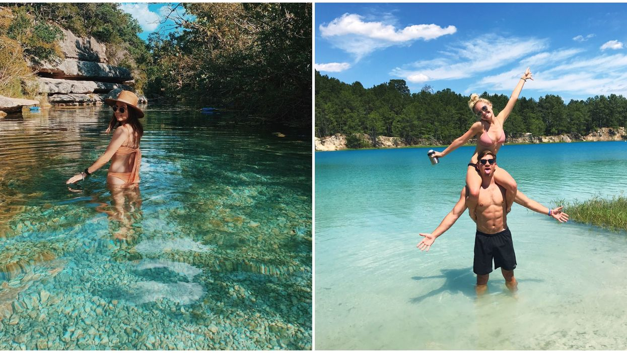 Texas's Clearest Blue Water Can Be Found In These Amazing Spots