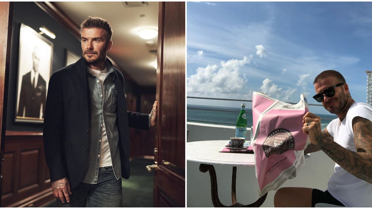 Beckham's Instagram Post Last Night Is Hinting At A Partnership With Ralph Lauren