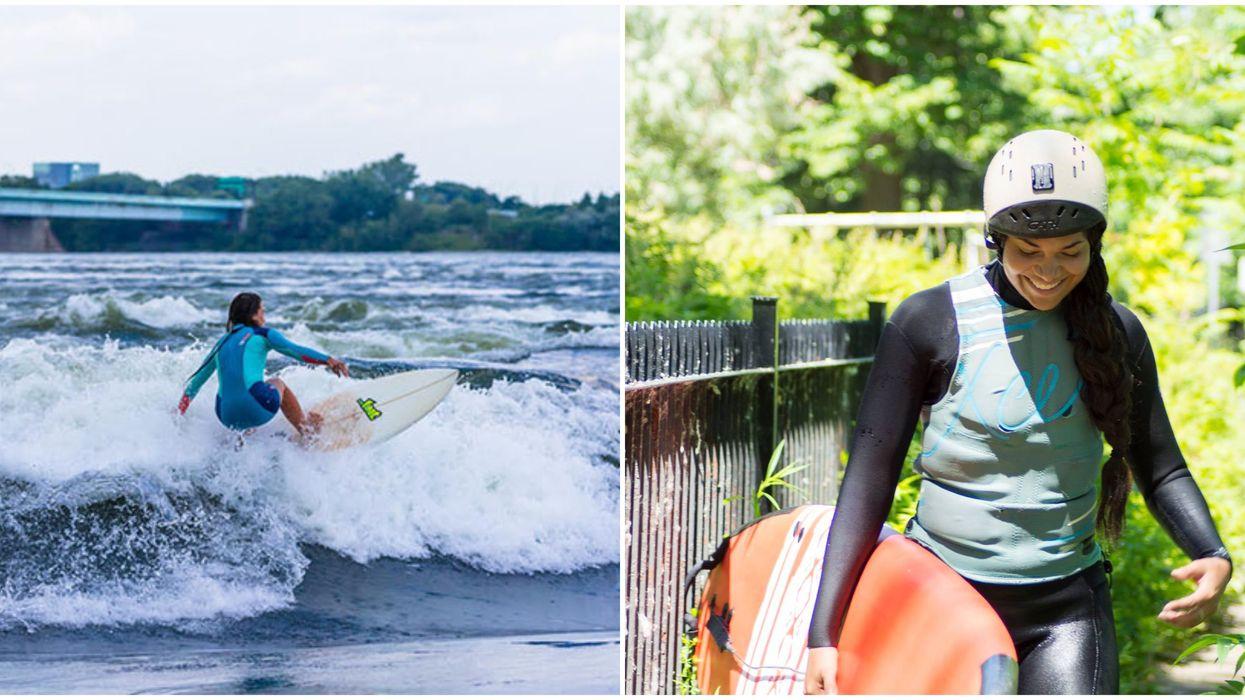 Tu peux faire un camp de surf comme si tu étais en Californie à Montréal cet été