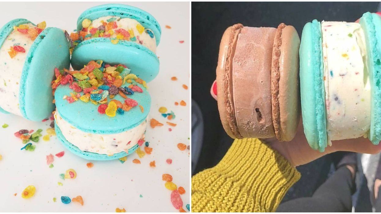 Macarons In Utah Include These Turned Into Ice Cream Sandwiches