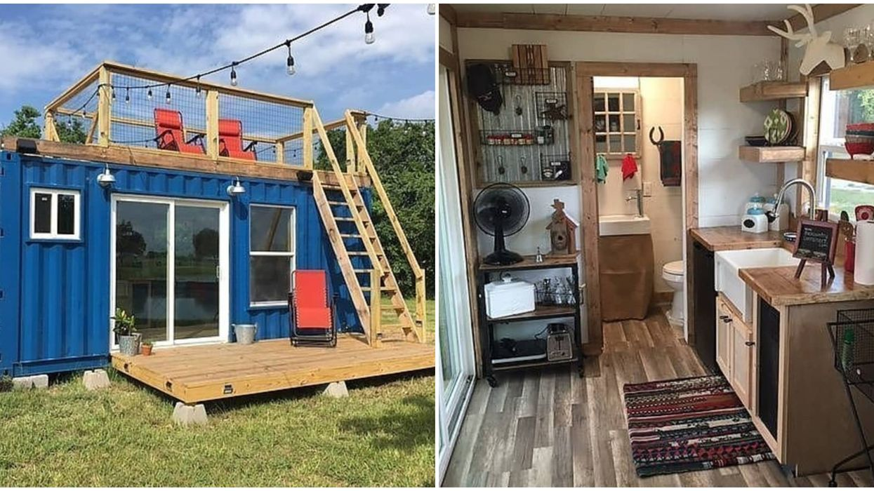 This Tiny House For Sale In Texas Is A Unique Retreat For Just $30K