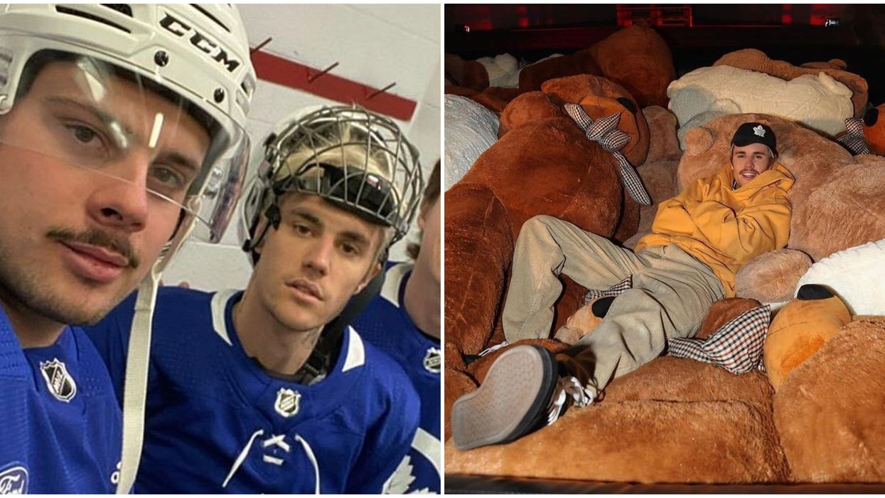 Justin Bieber's Toronto Home Is A Total Funhouse According To Auston Matthews