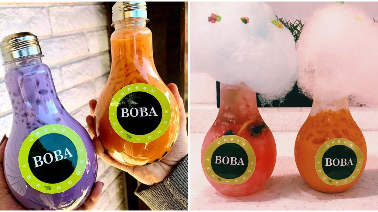 Best Boba In Phoenix Comes Served In A Light Bulb Bottle