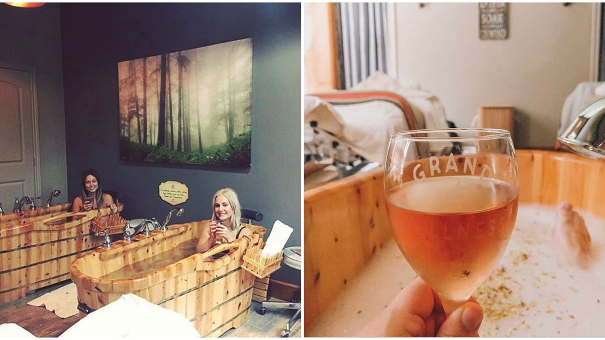 Ontario's Beer Spa Has Baths Of Beer & You Can Hop Right In