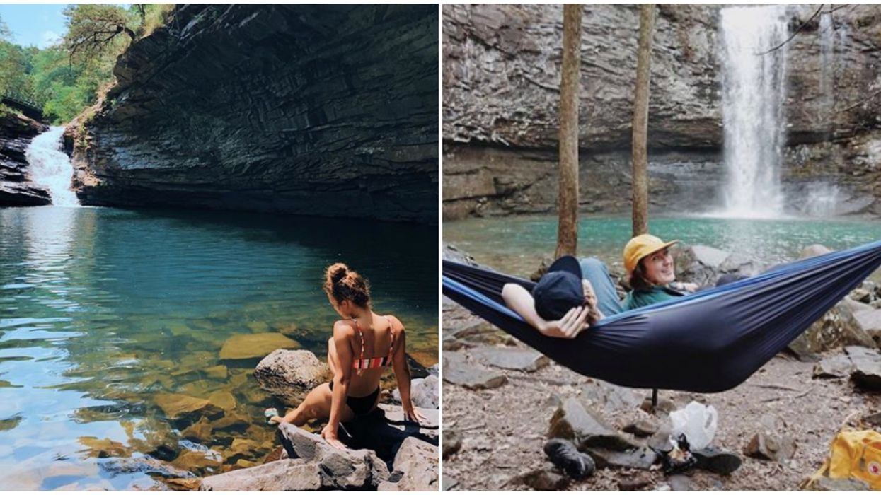 Emerald Pools In Georgia Will Make You Want To Jump Right In