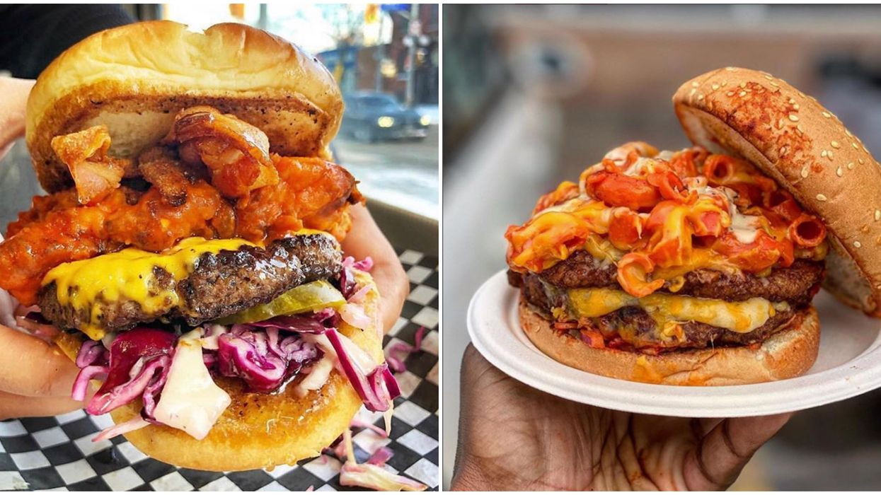 Toronto's BurgerMania Festival Has All The Best Burgers In The City This Spring