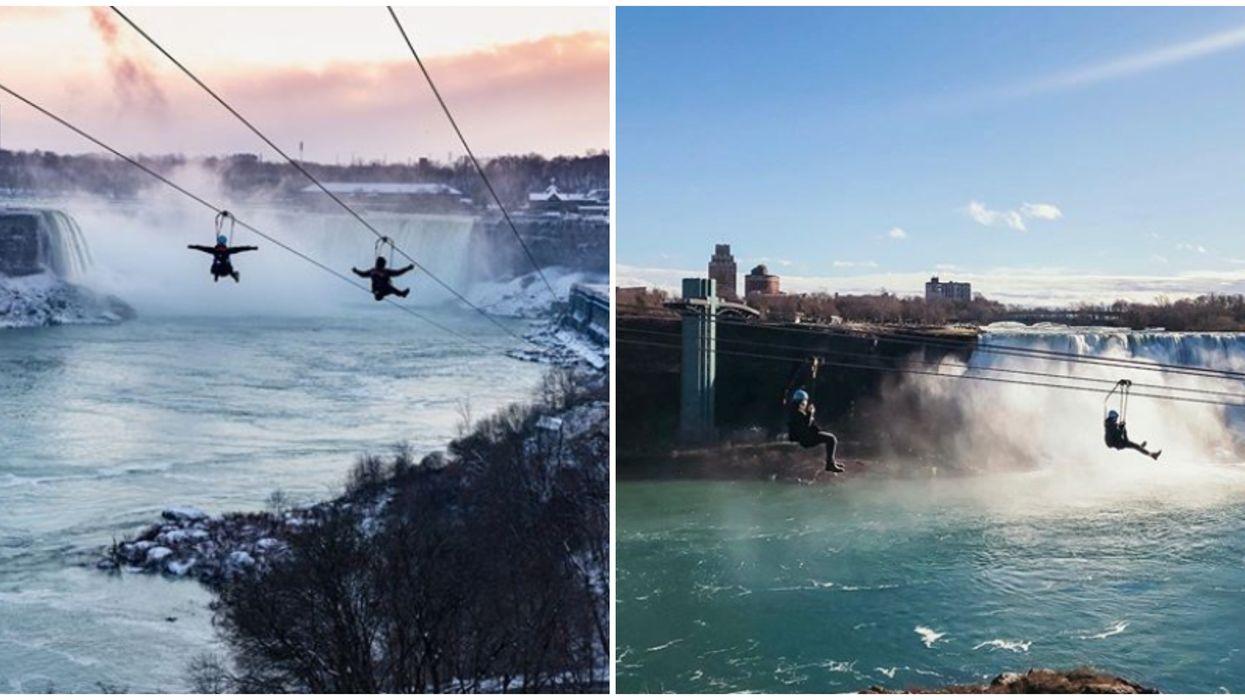 Niagara Falls Zipline Is Opening Early This Spring