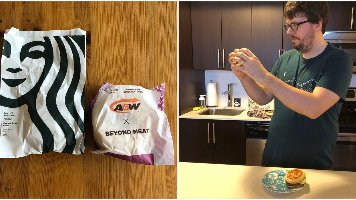 Starbucks Beyond Meat Breakfast Sandwich Vs A&W's: Which One Is Better?
