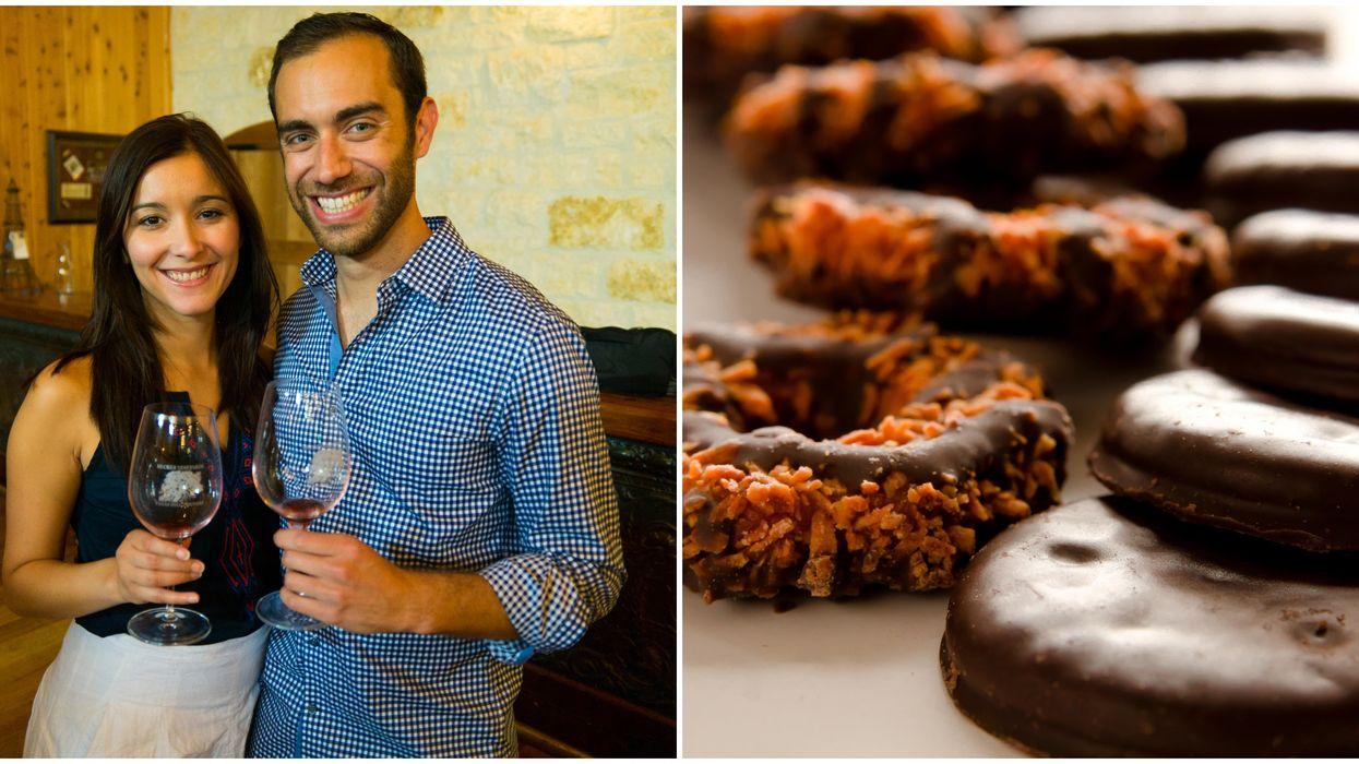 A Houston Girl Scout Cookies & Wine Pairing Is Happening This Weekend