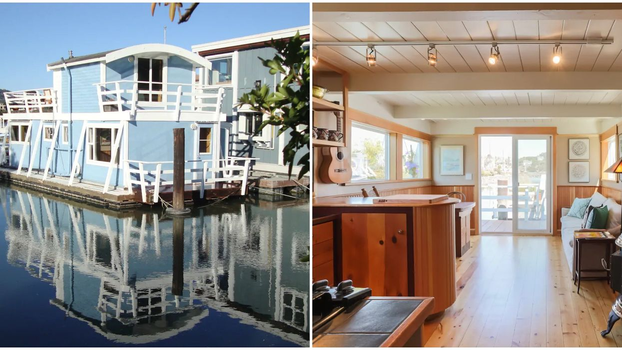 Houseboat In California Is Cheap To Rent On Airbnb