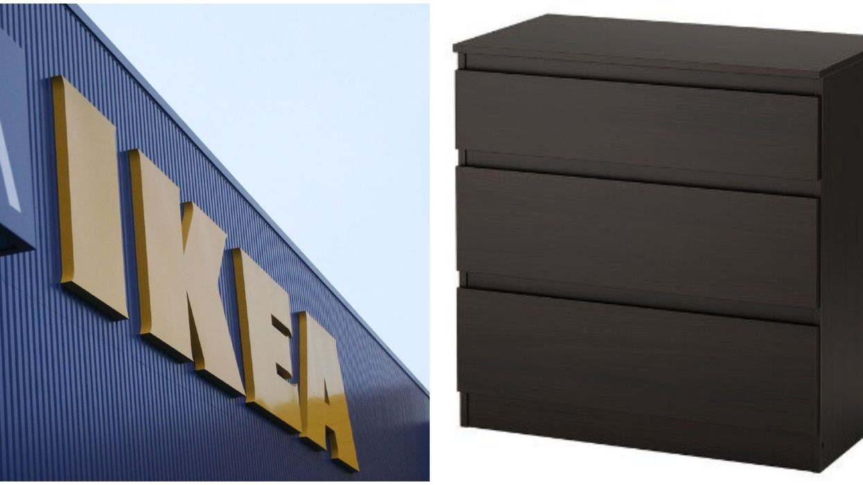 IKEA Canada Recall Of A Popular 3-Drawer Chest Is Because It's Not Safe Anymore