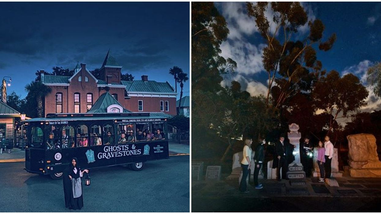 This Haunted Ghost Tour In Florida Takes You To The Creepiest Places In St. Augustine