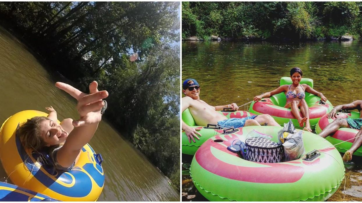 These Lazy Rivers In North Carolina Are The Ideal Spring Break Spots