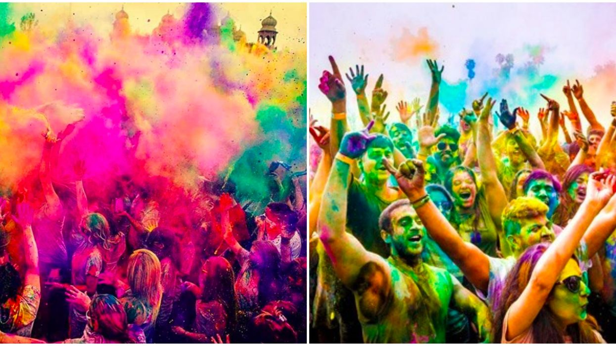 Holi Festival In North Carolina Is A Whimsical Explosion Of Color