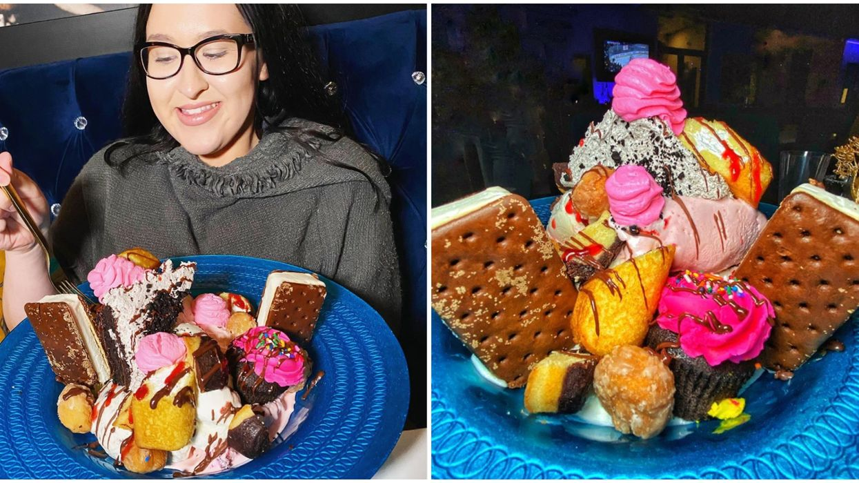 Blume Las Vegas Offers Diners A Bouquet Made Entirely Of Desserts Instead Of Flowers