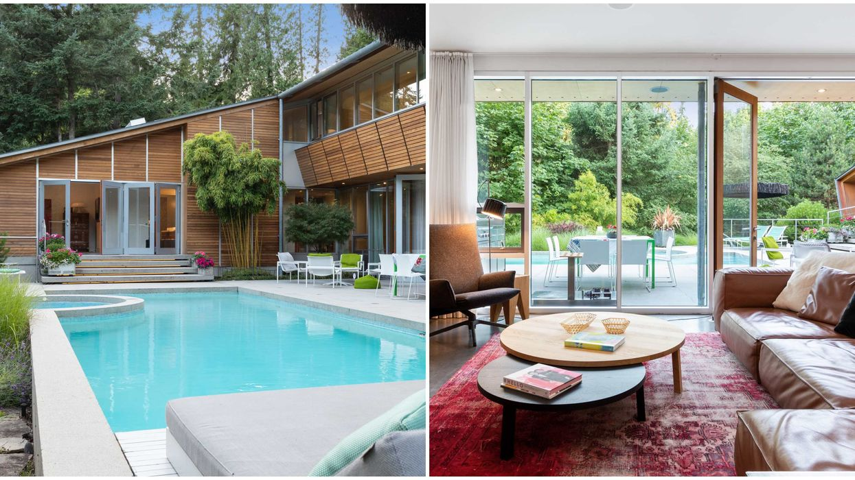 B.C. Mansion For Sale Makes You Feel Like You're In The Jungle (PHOTOS)
