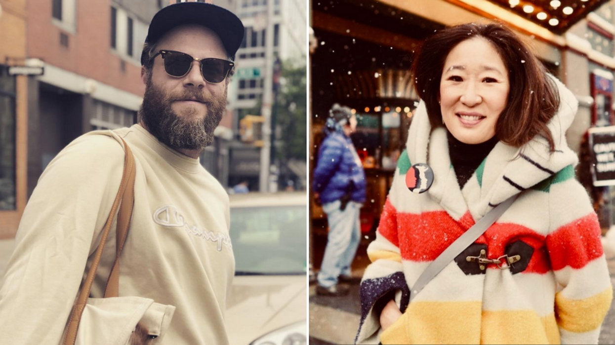 """Canadians Sandra Oh & Seth Rogen Are Teaming Up For Amazon Prime Series """"Invincible"""""""