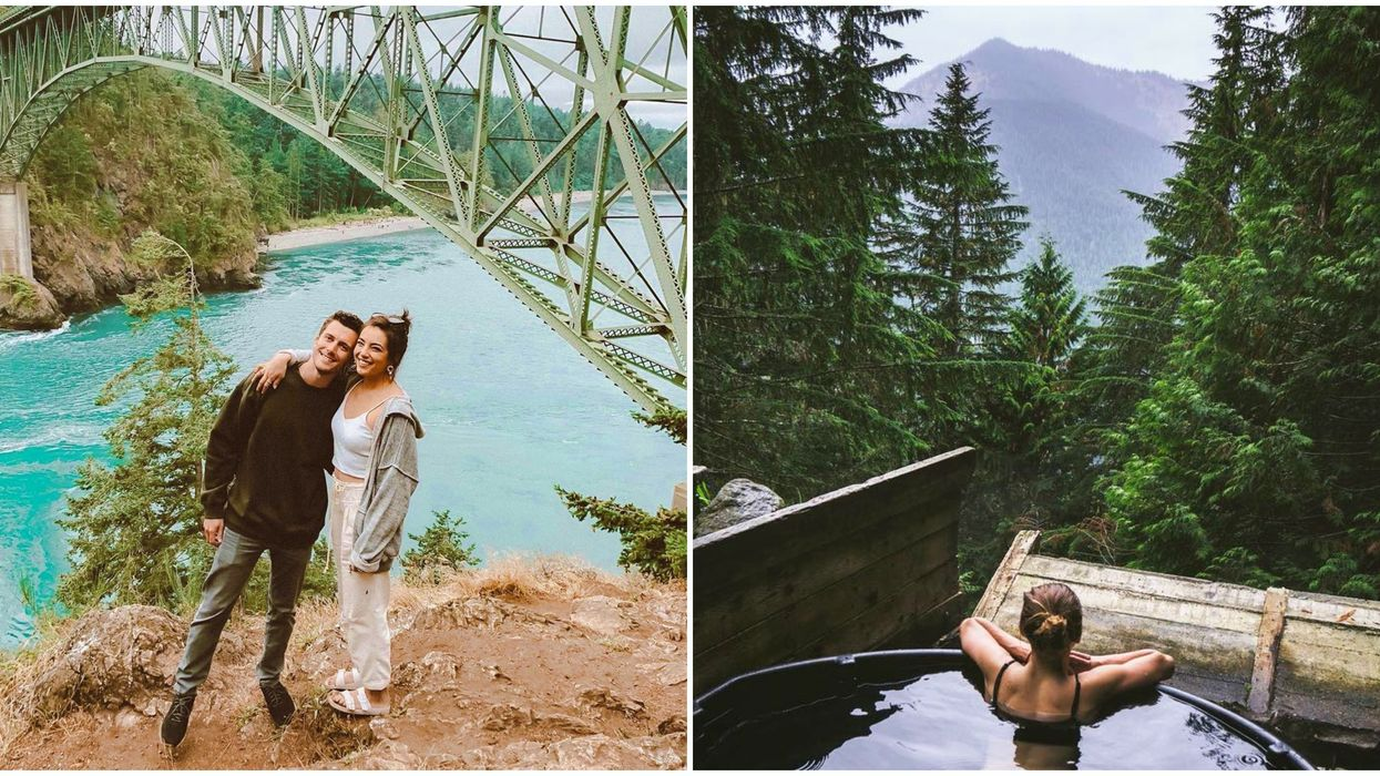 7 Romantic Getaways Near Seattle That Are Perfect For Spring Break