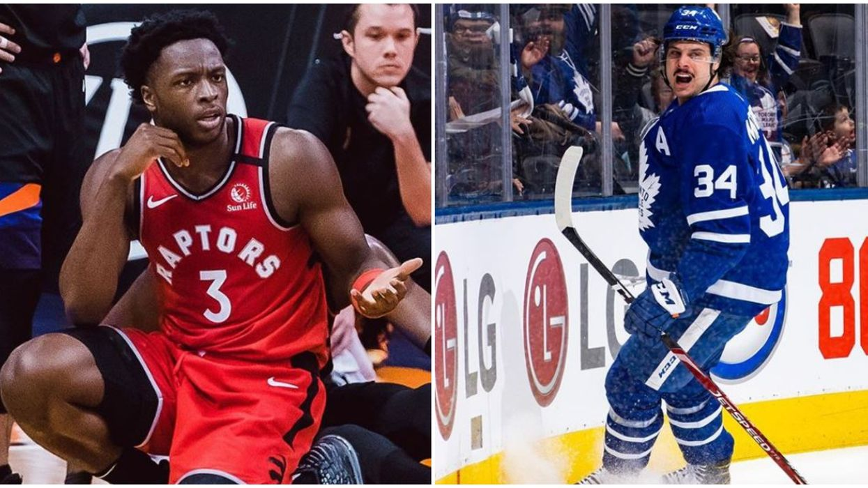 Raptors And Leafs Can't Win On The Same Day According To Toronto Sports Fans
