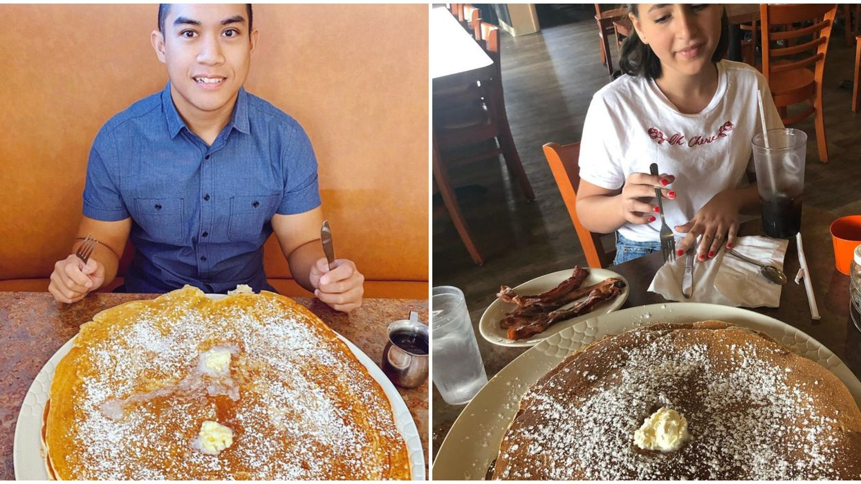 Biggest Pancakes Near Phoenix Are The Size Of An Extra-Large Pizza
