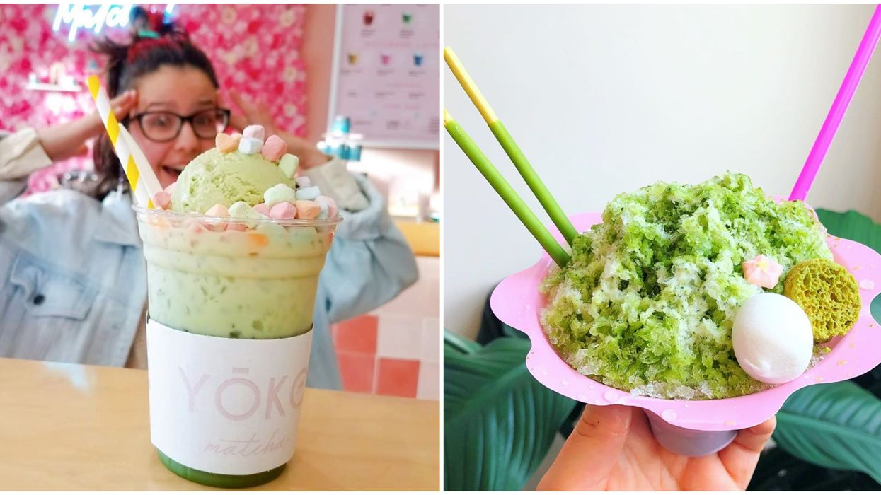 This Hidden Japanese Cafe In Miami Florida Serves Matcha Everything
