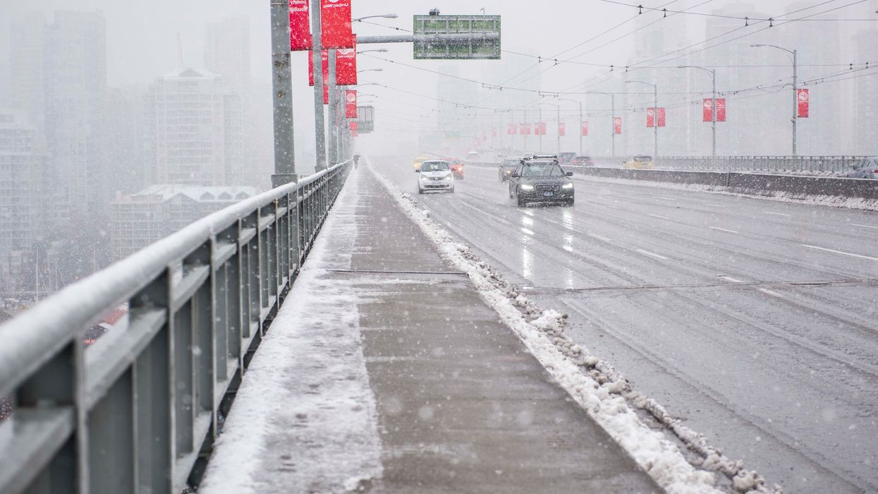 Vancouver Could Get Snow This Weekend & Panic Is Already In The Air