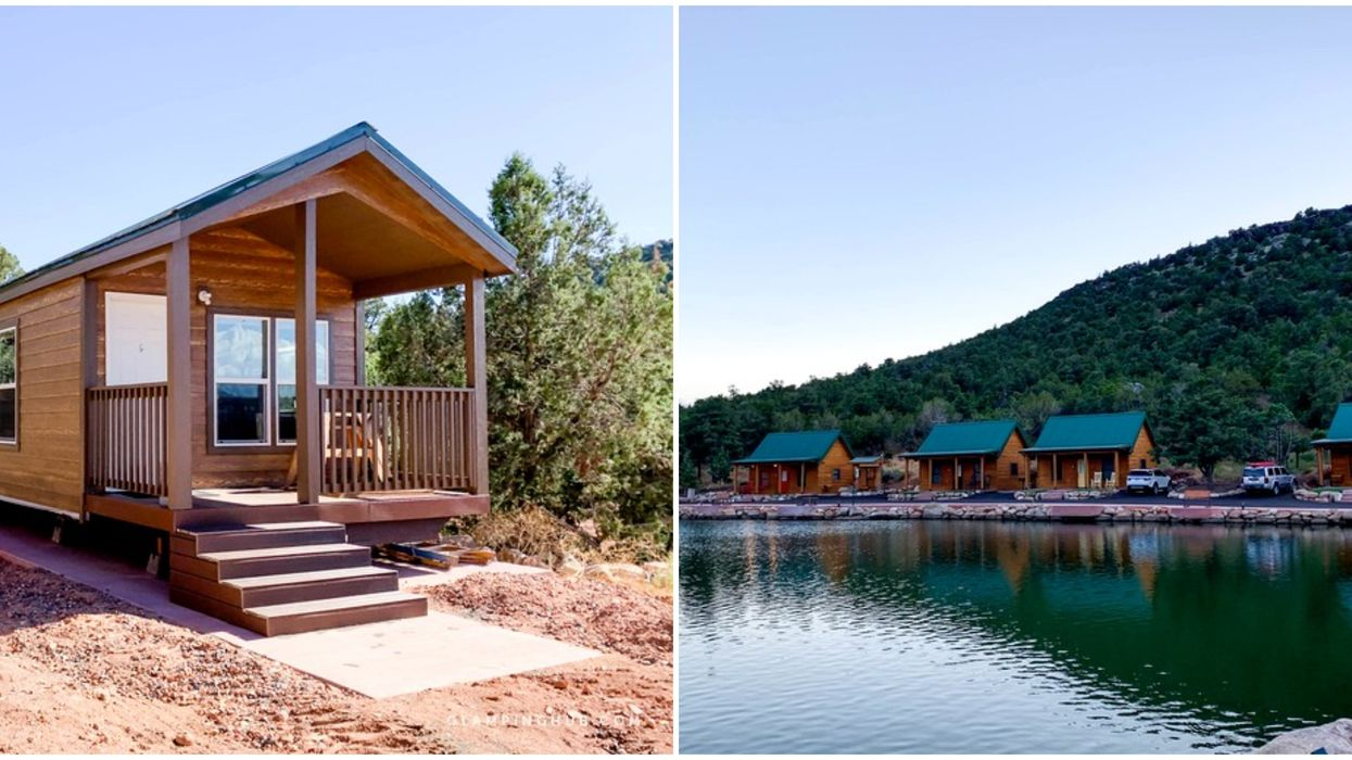 Holmstead Ranch Resort In Utah Has Cabin Rentals With Dreamy Lake Views