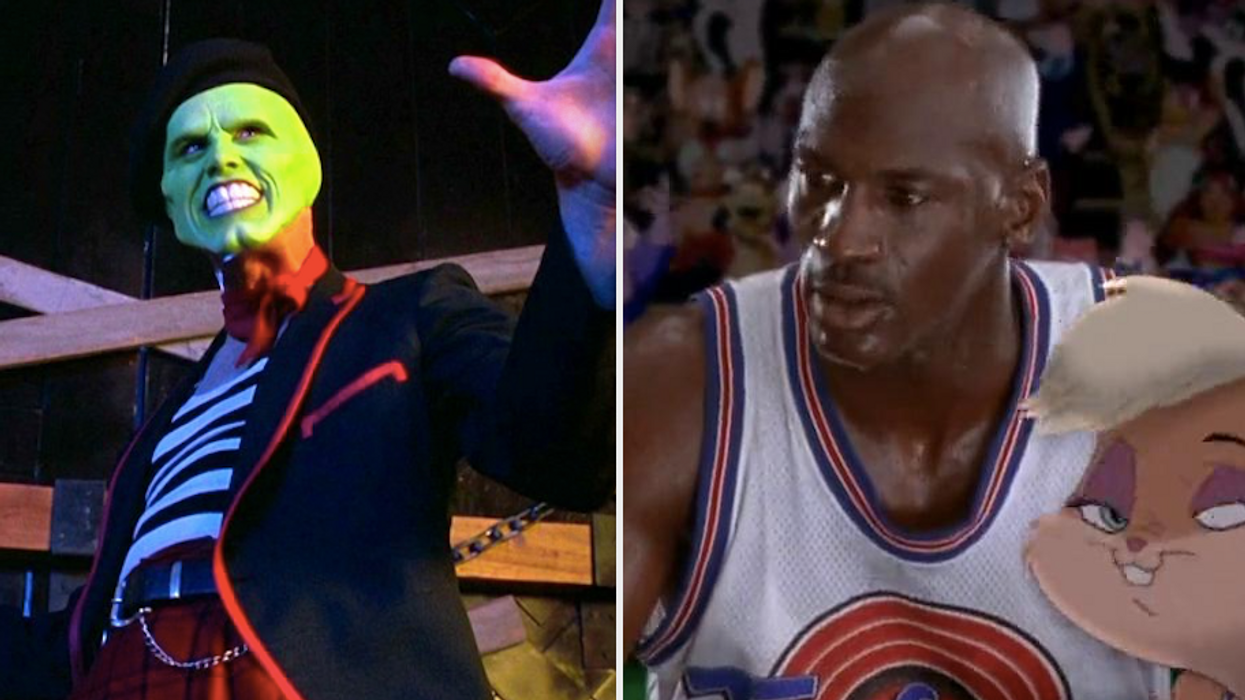 Bringing the 90s back! Space Jam 2 will reportedly see Jim Carrey reprise his role from The Mask and we are so here for it.A first look at his character just leaked.