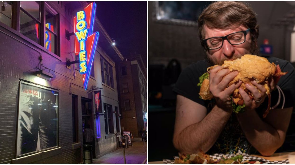 Bar In Nashville Is Finally Open And Has A 3 lb. Burger