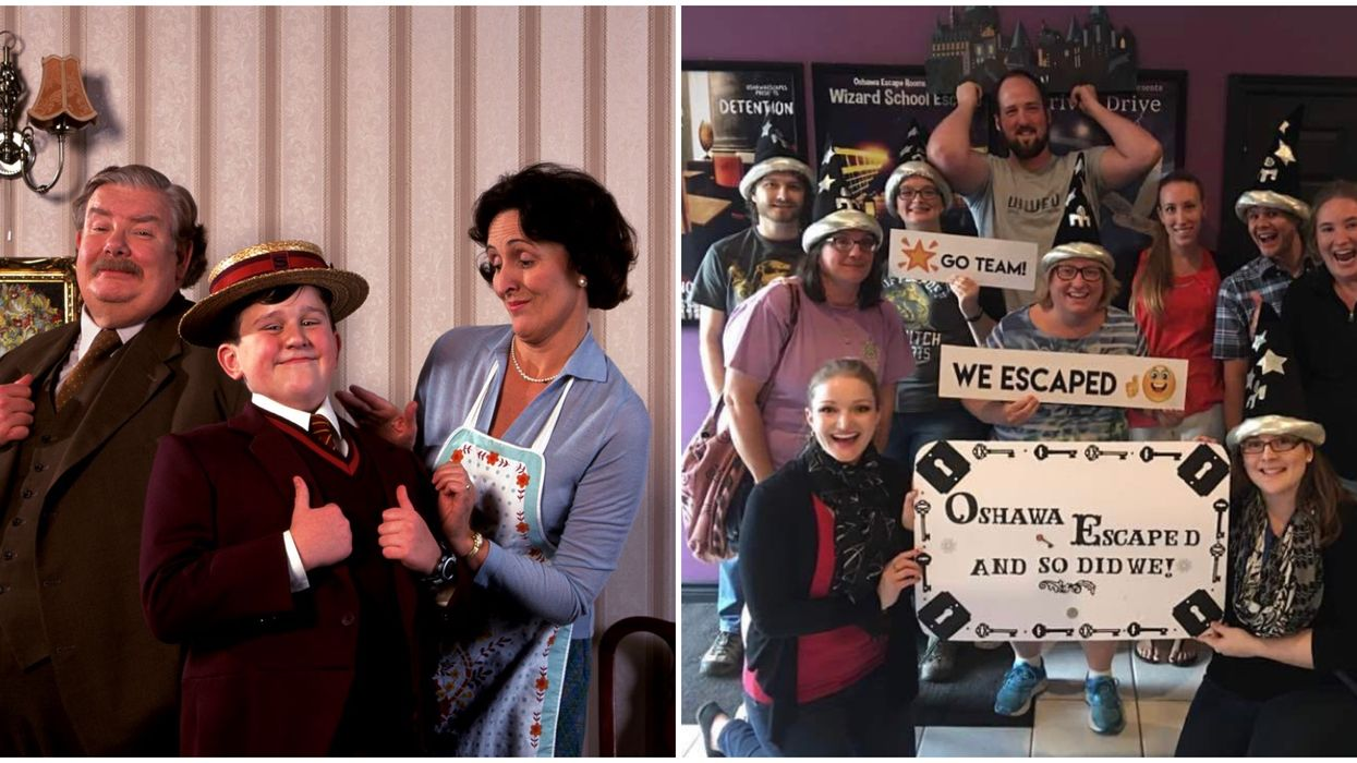 Toronto's Harry Potter Escape Room Lets You Save Him From The Dursley's