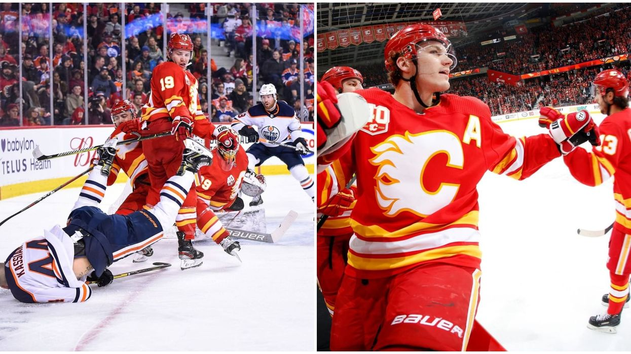 A 'Battle Of Alberta' Could Happen Between The Flames & The Oilers In The Playoffs