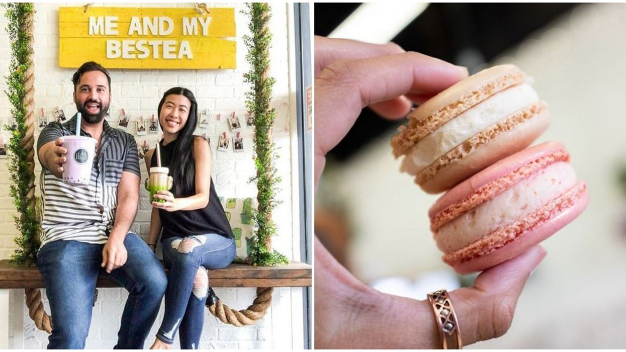 Bobacup Bubble Tea Cafe In Tampa Has A Mochi Ice Cream And Macaron Bar