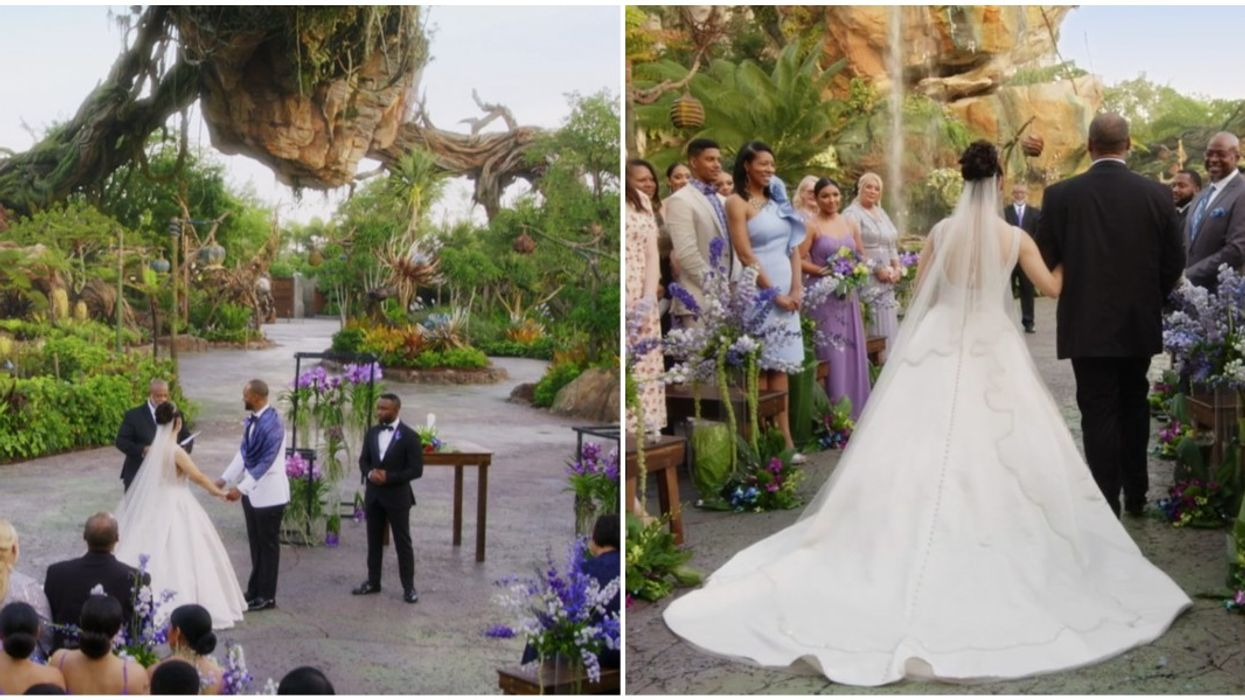 Disney World Orlando Hosted First Wedding On 'Pandora' And You Can Watch The Ceremony