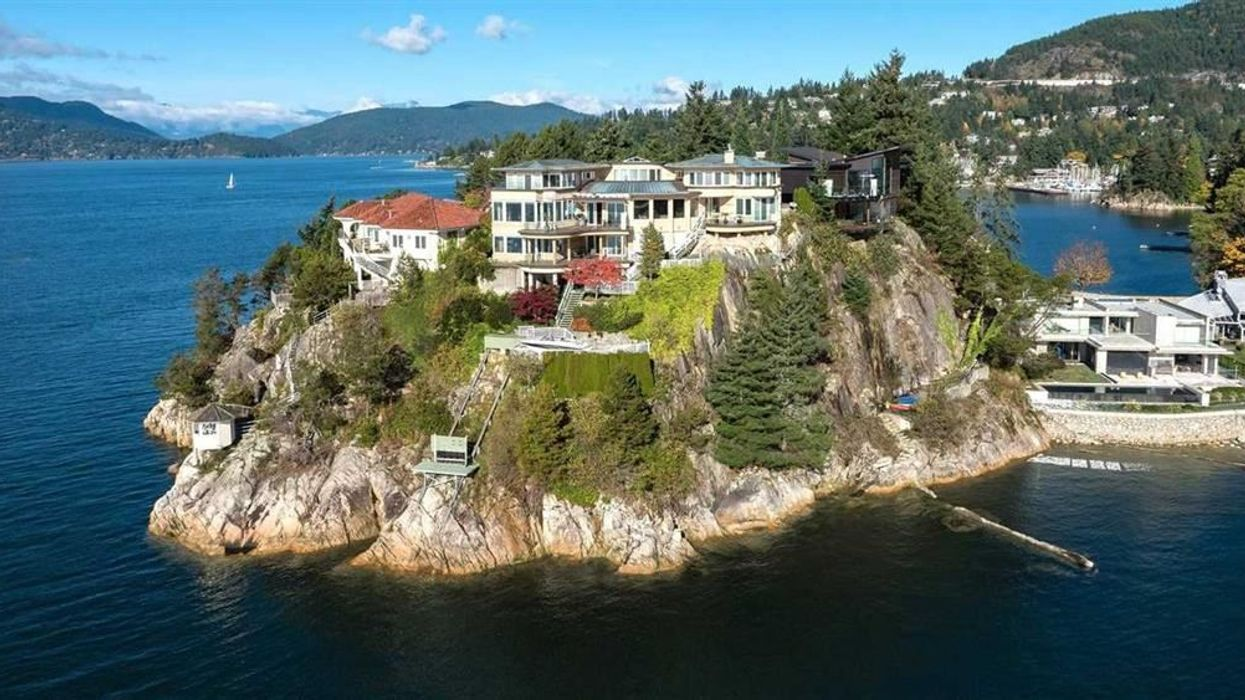 Vancouver Seaside Mansion Perched On A Cliff Is Just $18 Million
