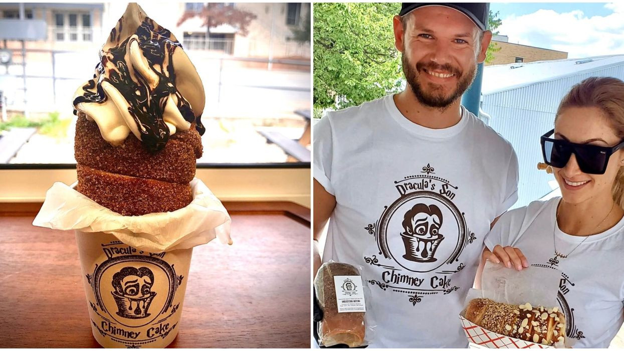 Austin's Newest Pastry Food Truck Has Transylvanian Chimney Cakes