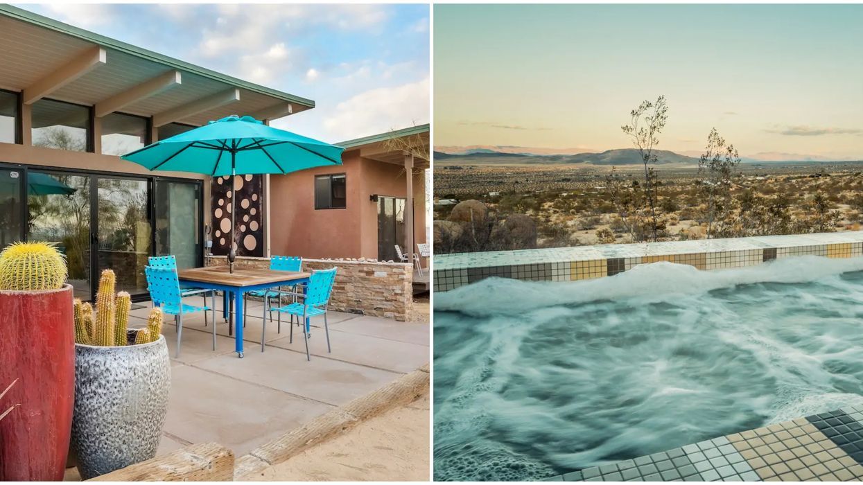 This Airbnb In California Comes With An Absolutely Giant Hot Tub