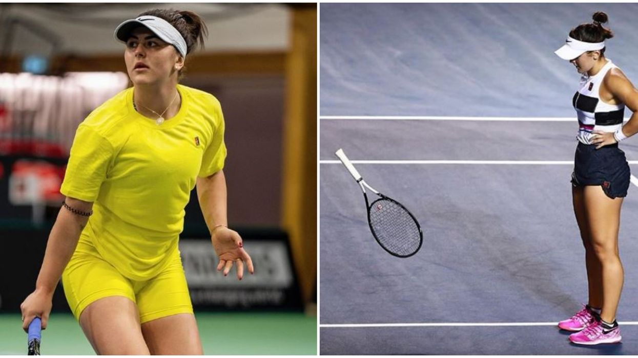 Bianca Andreescu Admits Missing Tournaments Due To Injury Is 'Pretty Depressing'