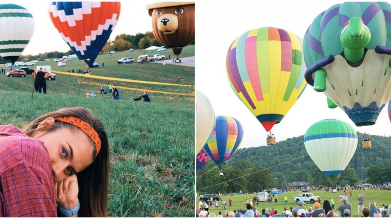 Things To Do In Tennessee Include This Hot Air Balloon Festival