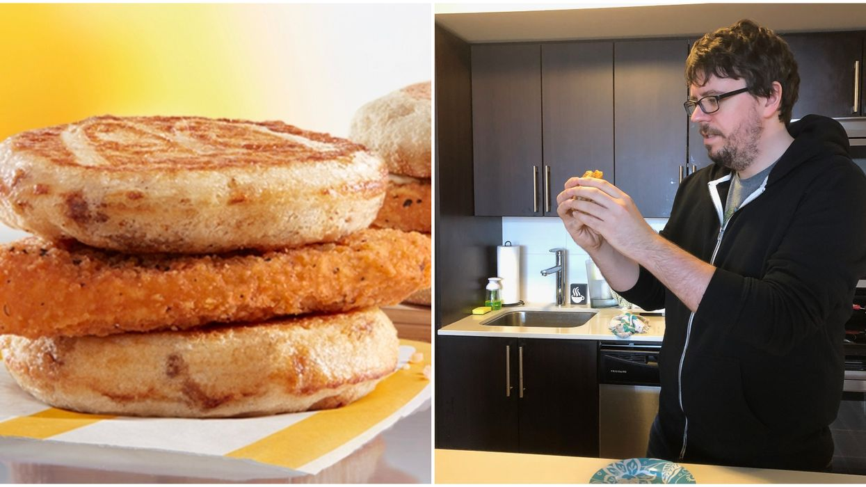 McDonald's Chicken McGriddle Gets A Taste Test From Us