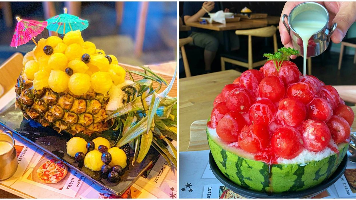 This New Dessert Spot In Seattle Serves Summery Fruit Bowl Bingsoo & They're Massive