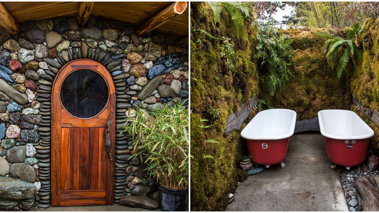 This Hobbit Airbnb In California Comes With Lush Outdoor Soaking Tubs