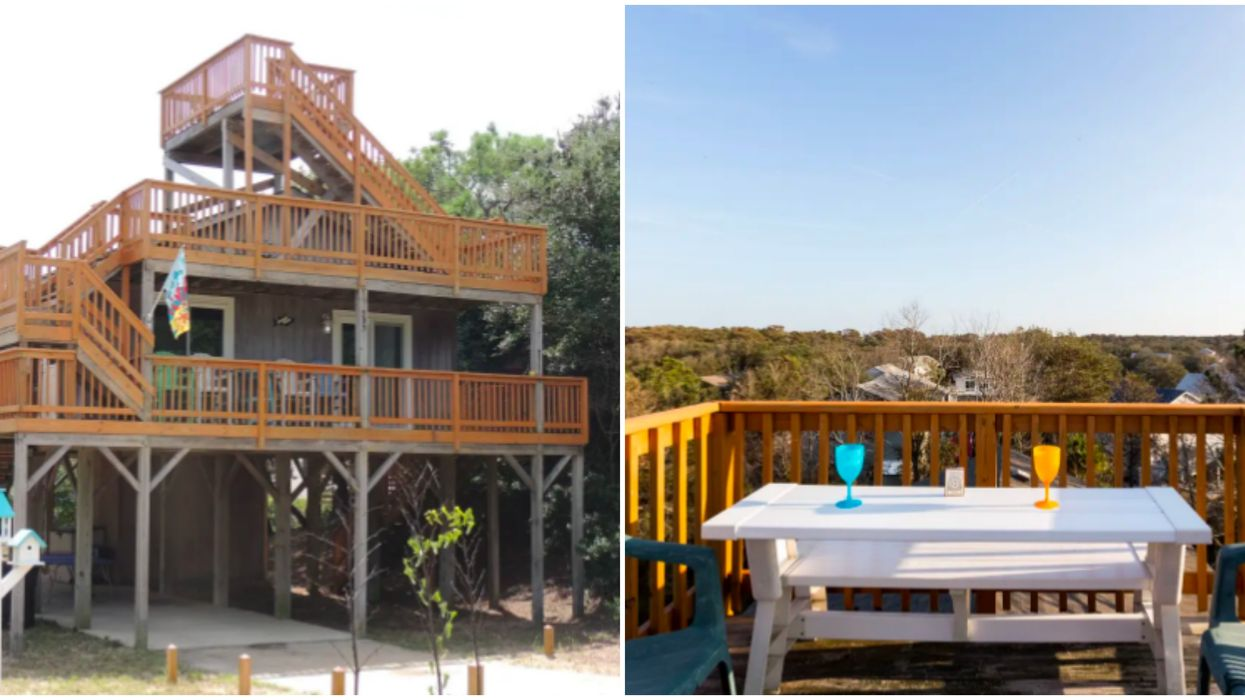Best Airbnbs In North Carolina Include A Three-Story Beach Paradise