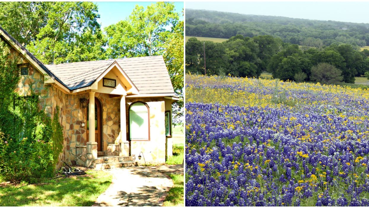 This Fairytale Cottage Near Houston Is The Perfect Hidden Getaway