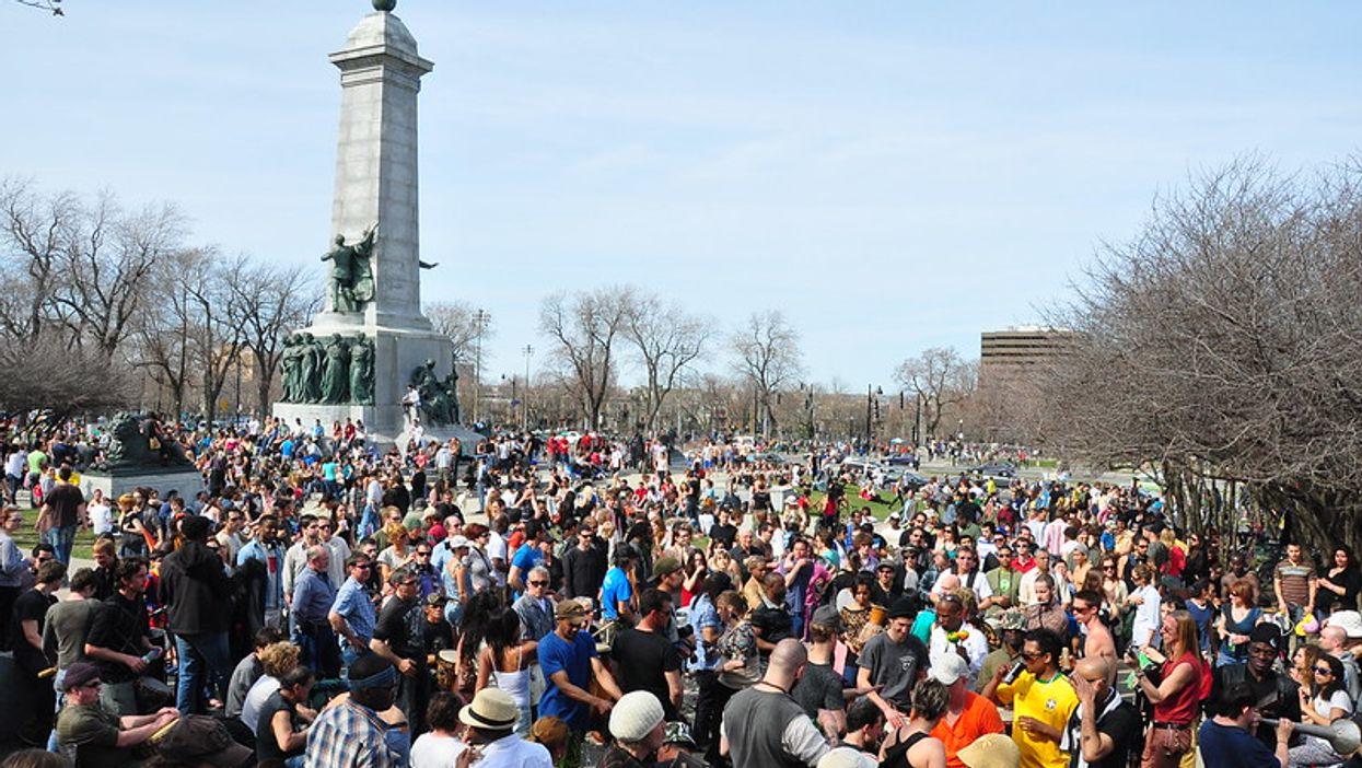 Une manifestation contre le coronavirus prévue à Montréal devient virale