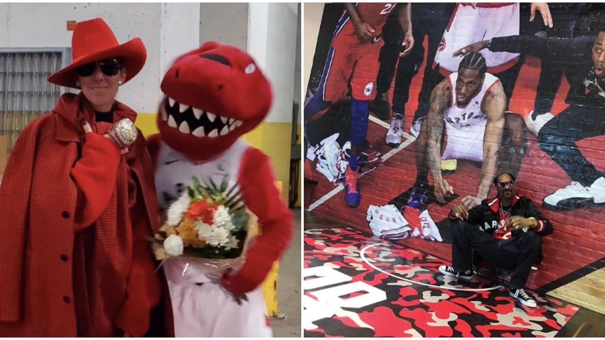 13 Celebrities Who Have Supported The Raptors With Public Displays Of Affection