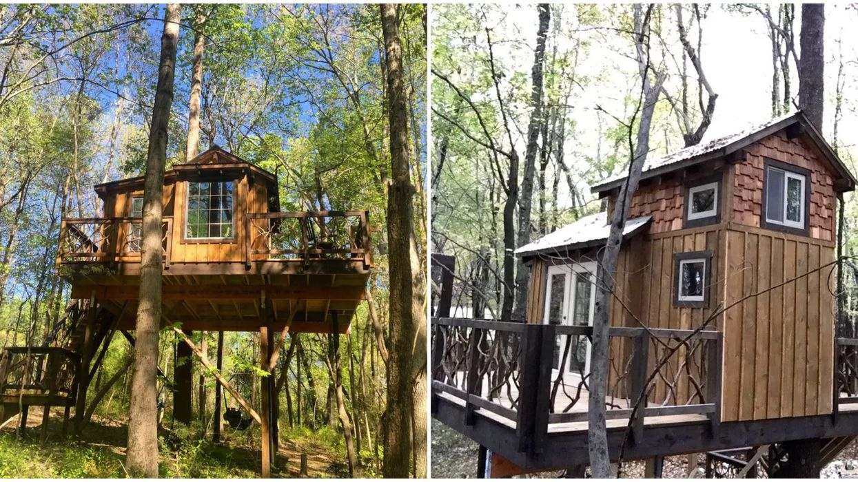 This Treehouse In North Carolina Is Perfect For An Ultimate Weekend Getaway