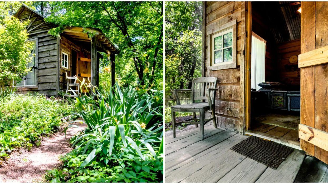 Airbnbs Near Dallas Include This Cute Cabin Rental