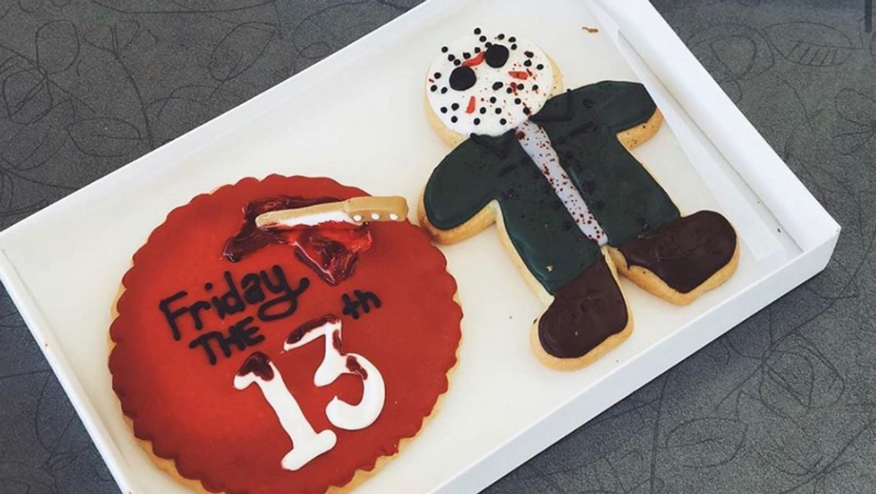 Sweet Dee's In Phoenix Sells Scary Good Friday The 13th Jason Cookies